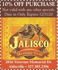 JALISCO MEXICAN GRILL:  Get your Mexican fix with Us!