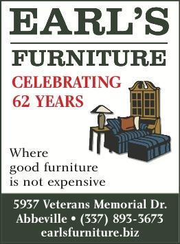 EARL'S FURNITURE:  Stop in and check out the March Sale!