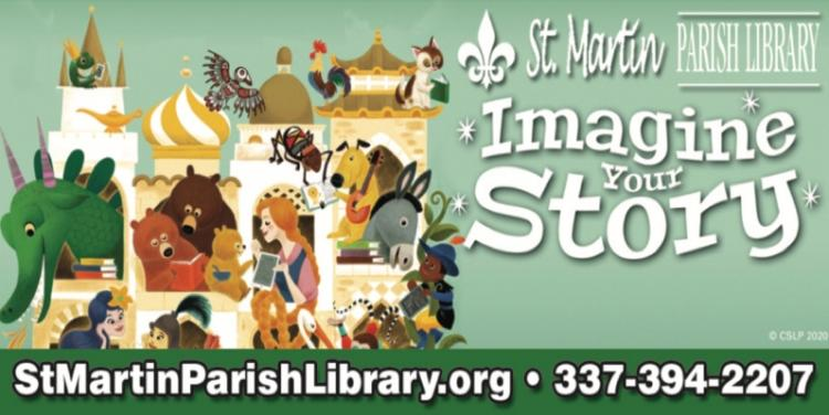 ST. MARTIN PARISH LIBRARY:  Use our digital library & Online Resources!