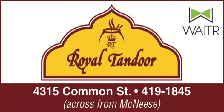 ROYAL TANDOOR:   Use our Delivery Apps or Pick Up!