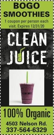 CLEAN JUICE:  Drive-Thru to your Health!