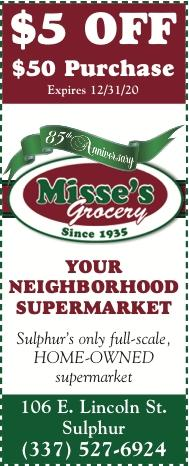 MISSE'S:  We are Open to Serve YOU!  Use our Coupons & Save