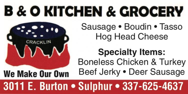 B & O KITCHEN & GROCERY:  We are here to Help You!
