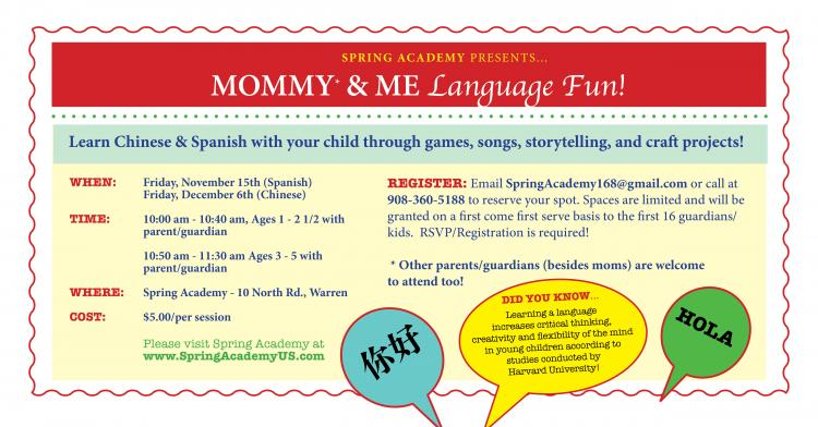 Mommy & Me Language Fun