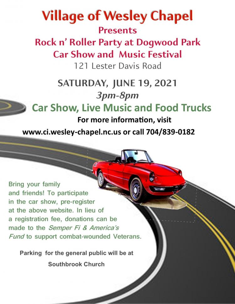 Village of Wesley Chapel Rock n' Roller Car Show and Music Festival