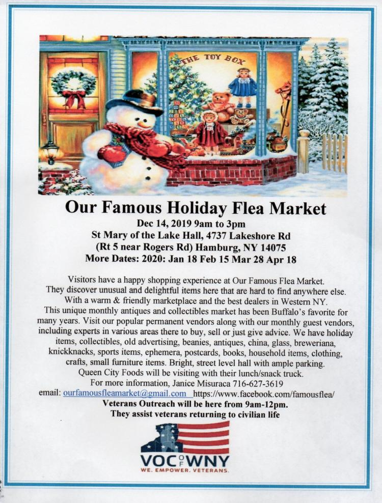 Our Famous Holiday Flea Market