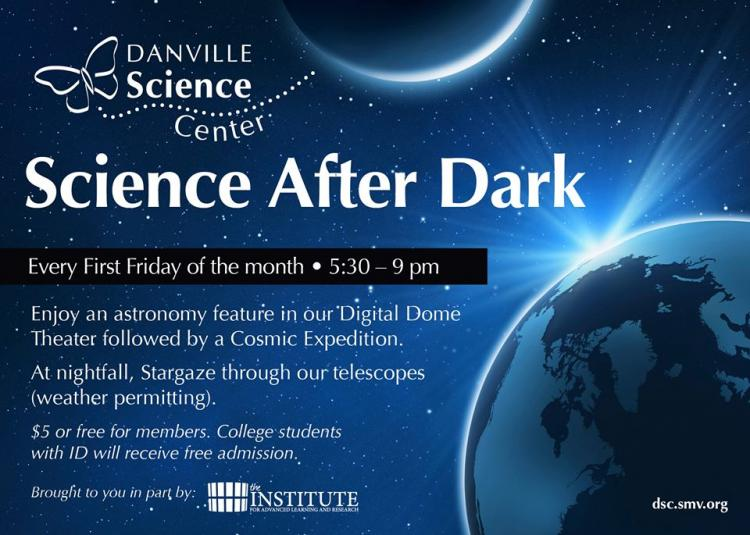 Science After Dark at the Danville Science Center