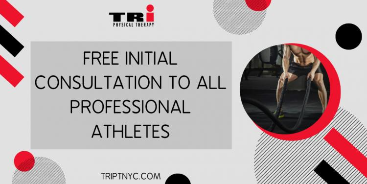Free Initial Consultation To All Professional Athletes.