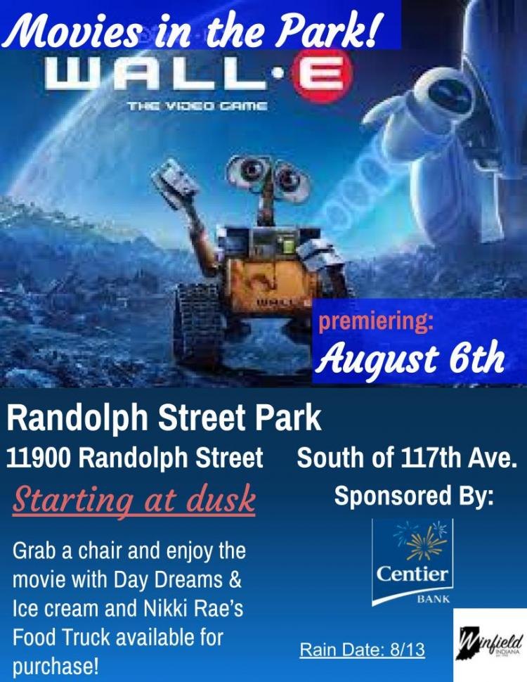 Movie in the Park (Wall-E)