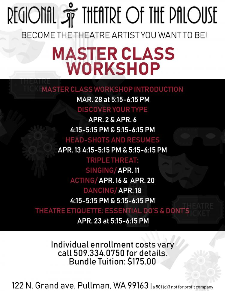 RTOP's Master Class Workshop: Modern Triple Threat, Dancing