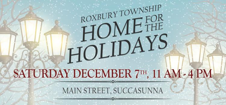Roxbury Township's 5th Annual Home for the Holidays Festival