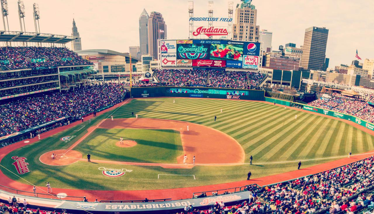 Cleveland Indians Home Opener Game!