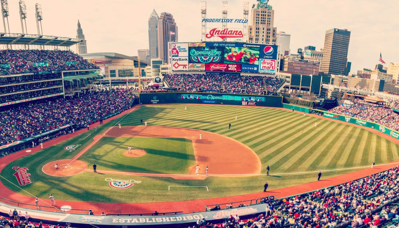 Cleveland Indians vs. Tampa Bay Rays At Progressive Field