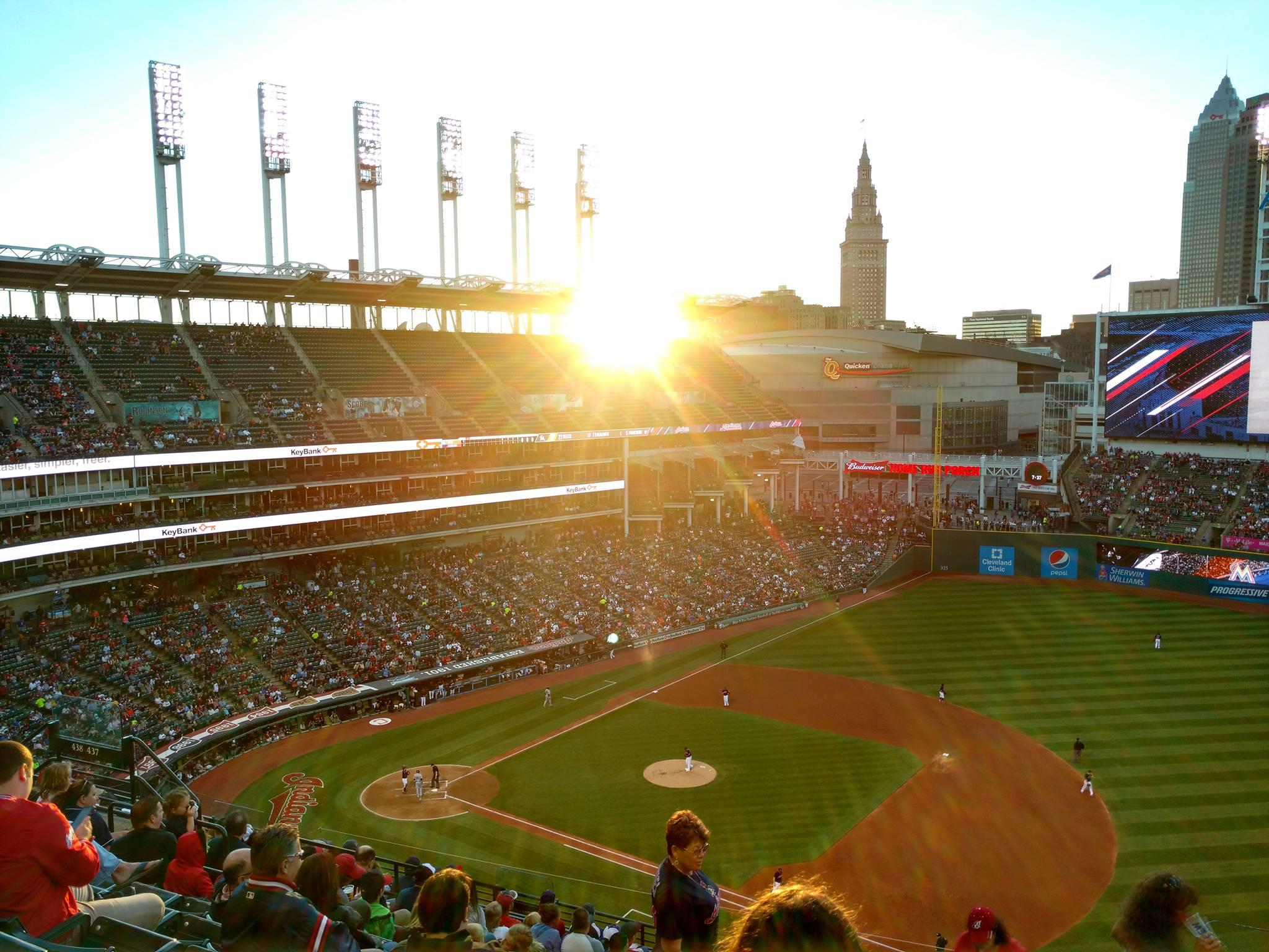Cleveland Indians vs. Los Angeles Angels of Anaheim At Progressive Field
