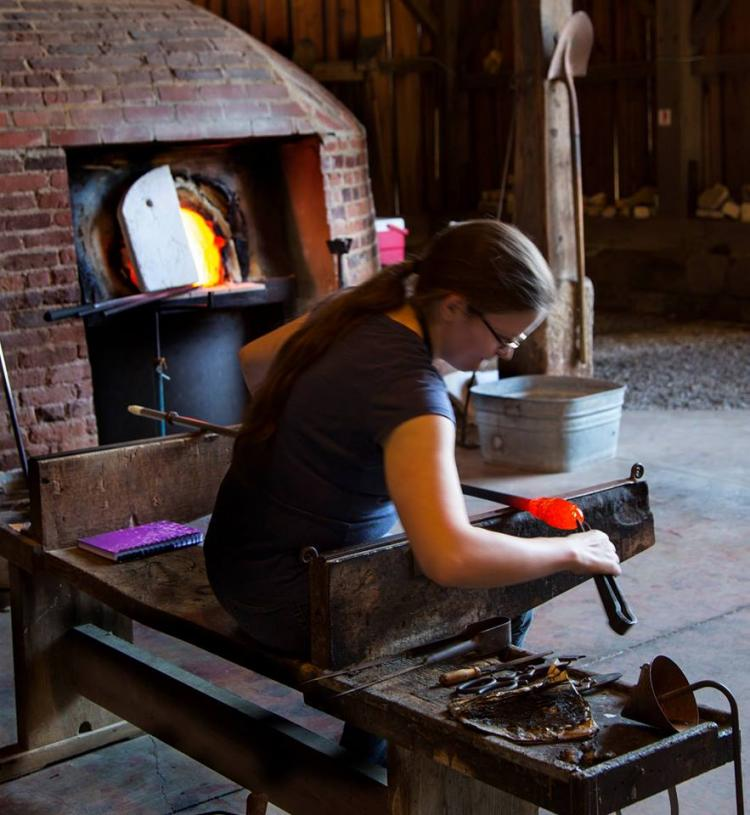 Glassblowing Workshop: Swirl Paperweight June 17, 10:30am