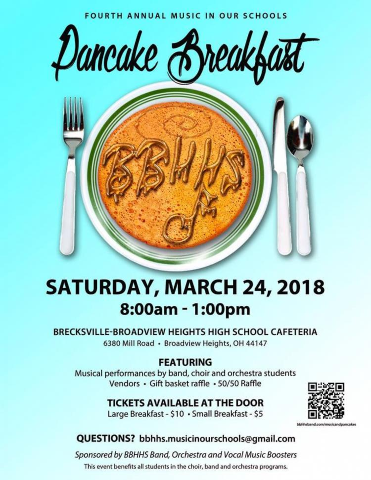 Pancake Breakfast and Musical Performances