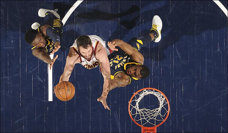 Cleveland Cavaliers Vs. Indiana Pacers (Home)