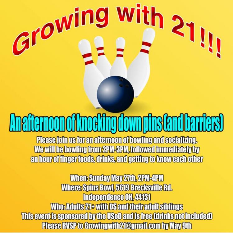 Growing With 21 Bowling at Spins