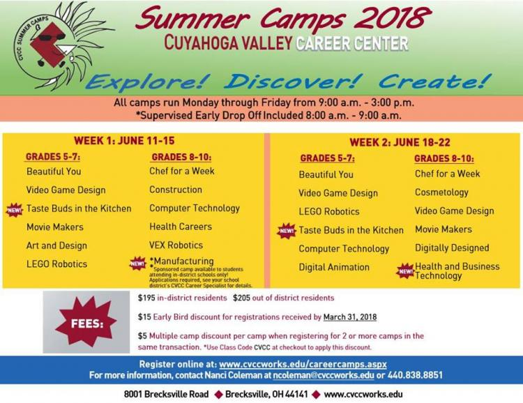 Summer Career Camps