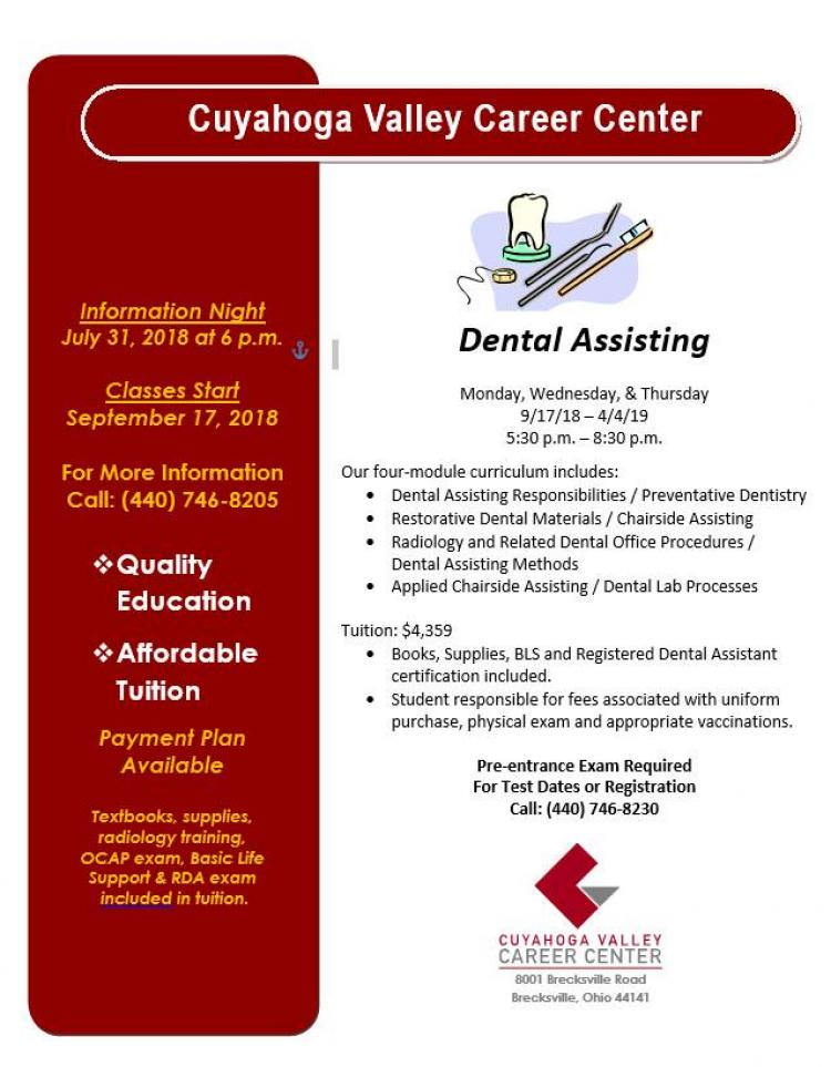 Dental Assisting Information Night