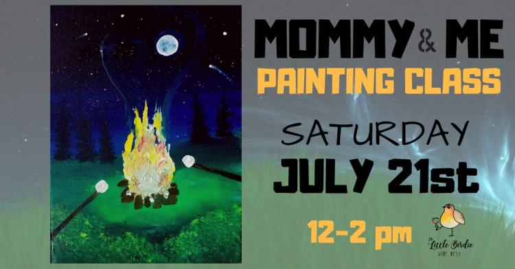 Mommy & Me | Campfire Painting Class