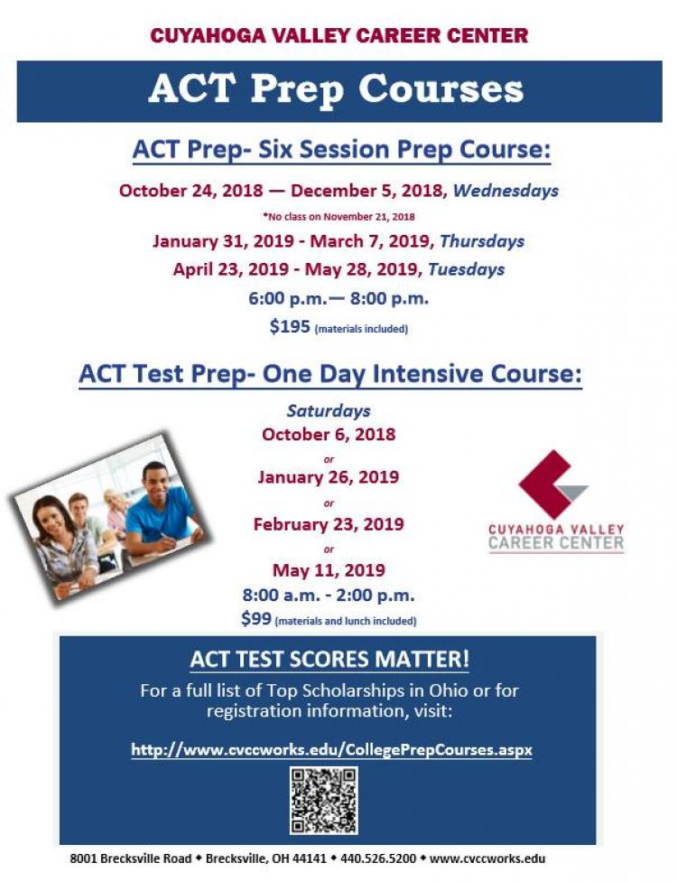 ACT Test Prep-One Day Intensive Course