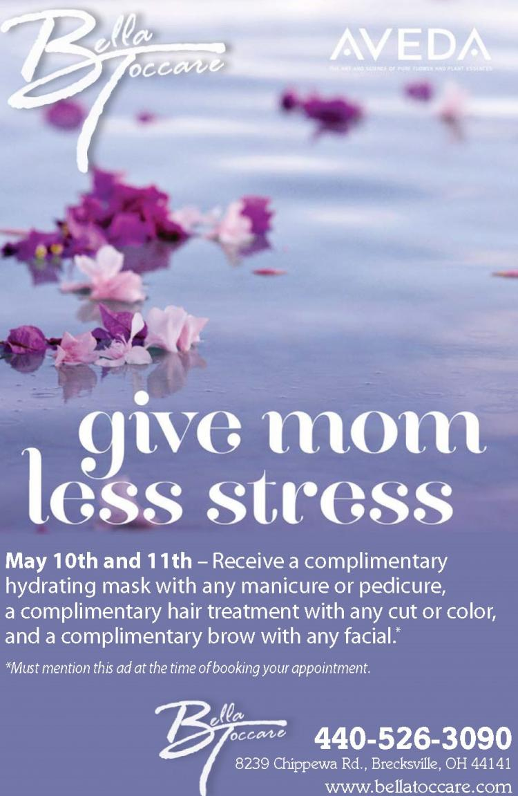 It's Time to Pamper Mom