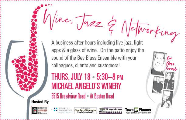 Wine-Jazz-Networking a Chamber After Hours