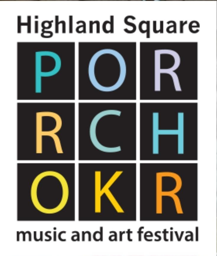 Highland Square PORCHROKR Music and Arts Festival