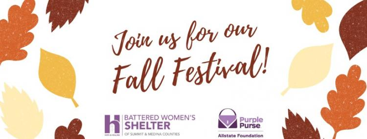 Join us for our Fall Festival - Battered Woman Shelter of Summit & Medina Counti