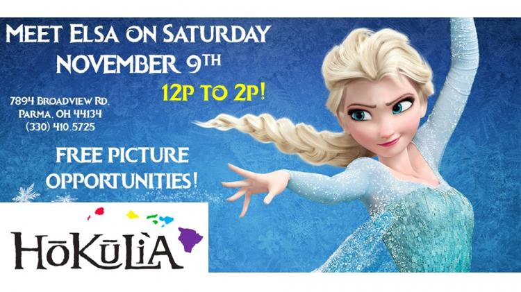 Meet and Greet with Elsa!