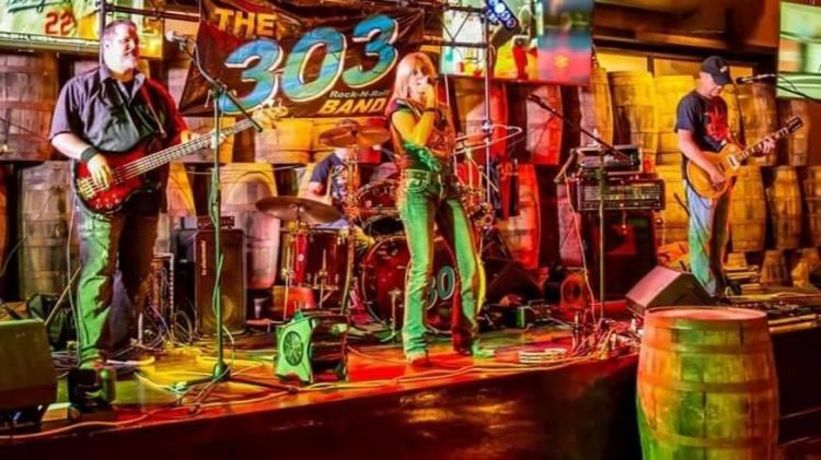 The 303 Band Live at the Eagle