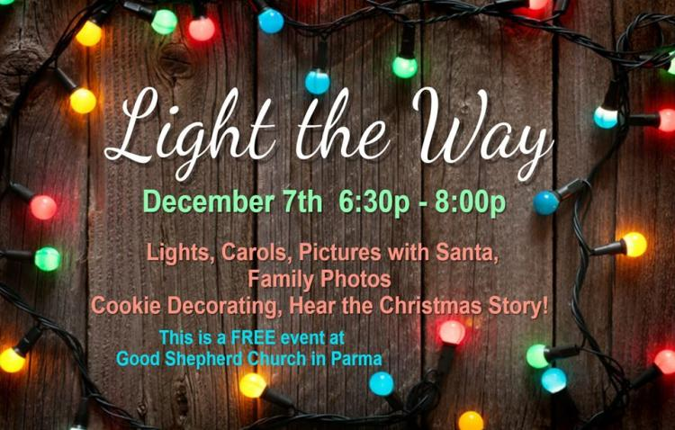 Light the Way Christmas Party in Parma