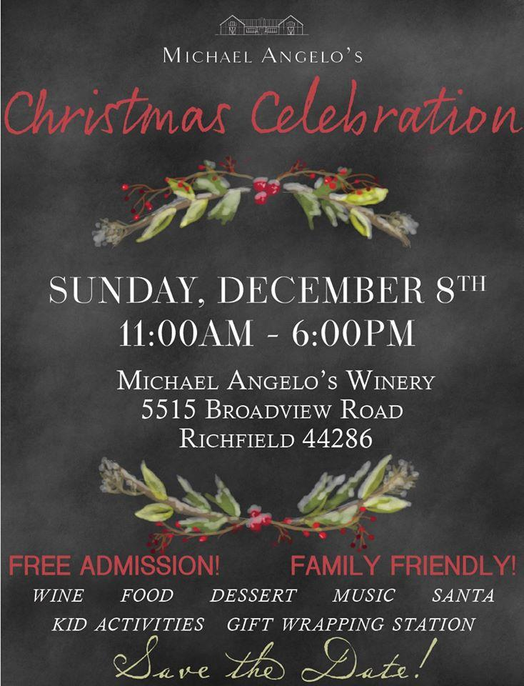 2019 Christmas Celebration At The Winery!