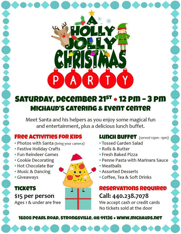 Michaud's Holly Jolly Christmas Party-RSVP for Dec 21st