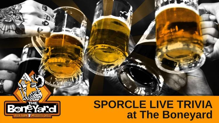 Sporcle Live Trivia at The Boneyard in Broadview Heights