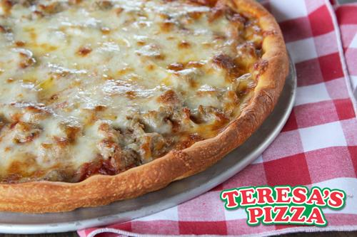 Teresa's Pizza Now offering Curb-Side pick up and FREE delivery