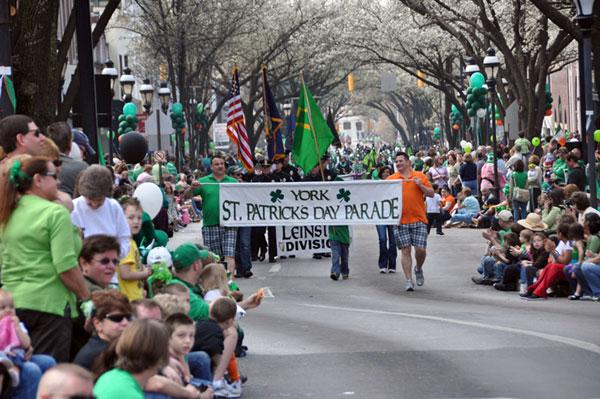 York St. Patrick's Day Parade
