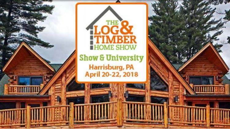 Log and Timber Home Show thru 4/22
