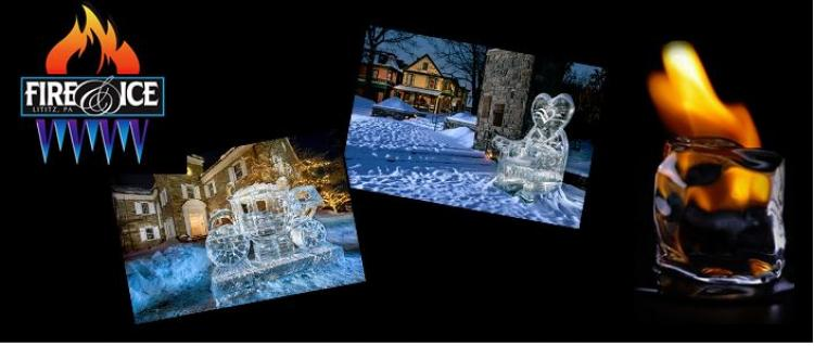 Lititz Fire & Ice Festival thru 2/18