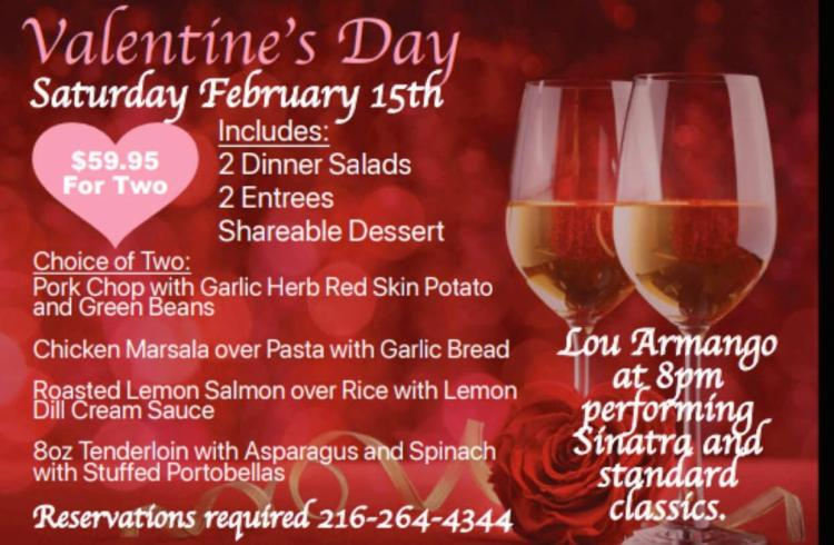 Valentine's Day Dinner with Lou Armagno