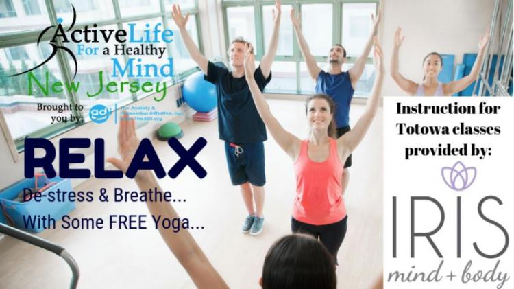 Free Yoga - Your Journey to Inner Peace at the Totowa Library (4/4/2020)