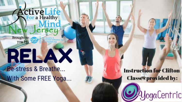 Free Yoga -Your Journey to Inner Peace @ the Allwood Branch Library (2/15/2020)