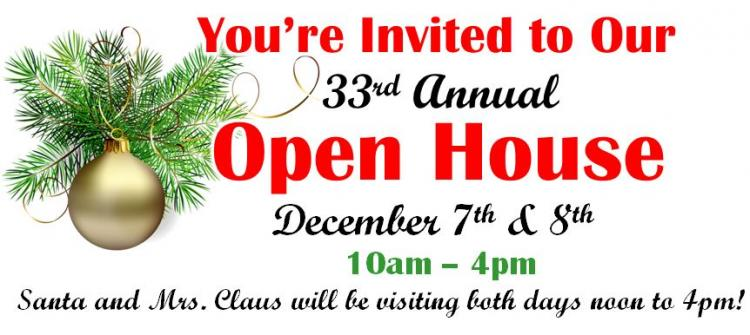 33rd Annual Christmas Open House