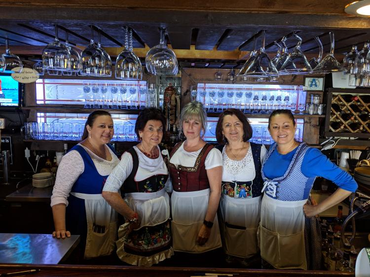 Happy Hour Mon - Sat 4-6 p.m. Horst Gasthaus Featuring German Draft Beer