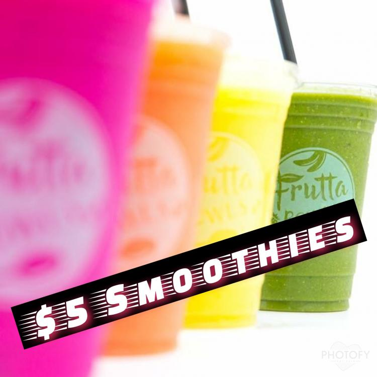 $5 Smoothie Day