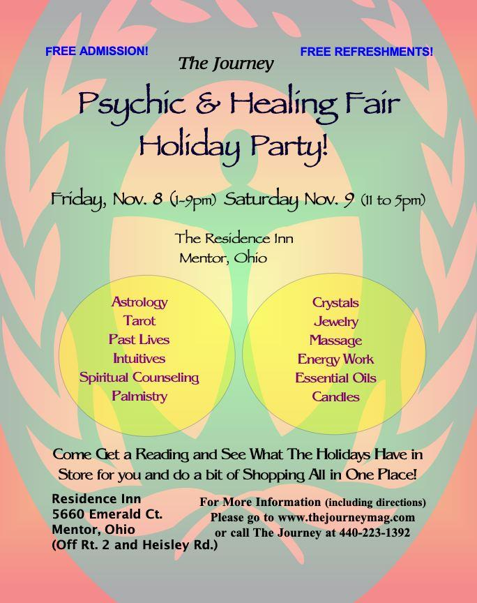 Psychic and Healing Fair Holiday Party