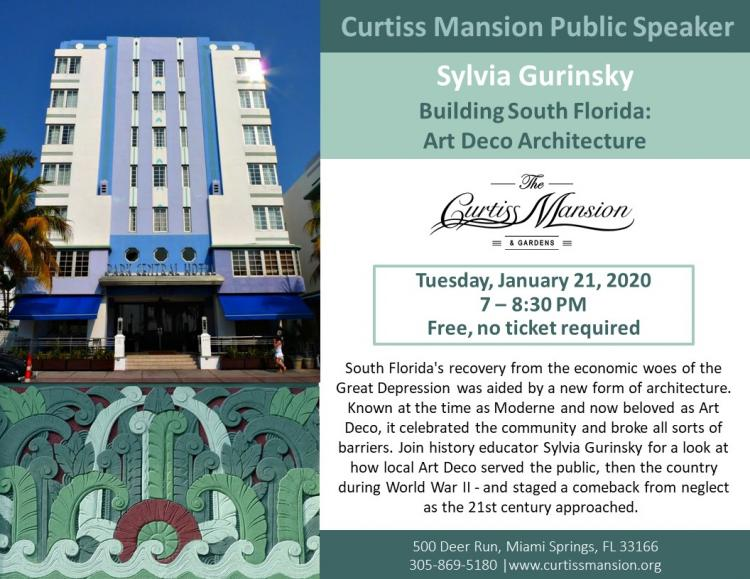 Building South Florida: Art Deco Architecture