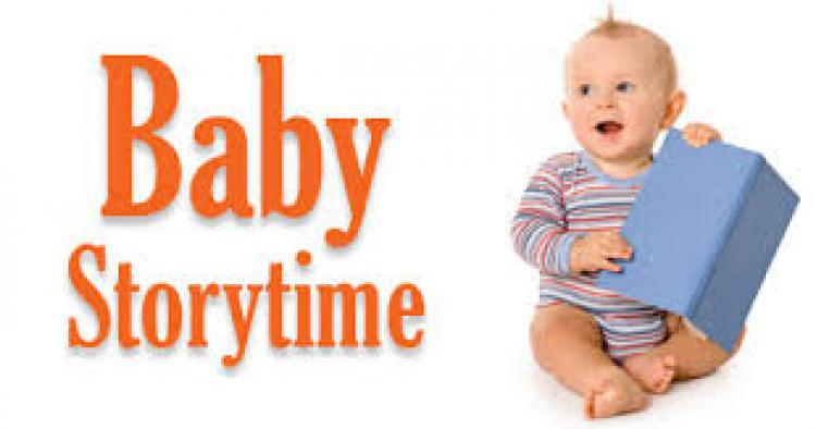 Baby Storytime at the Matthews Library