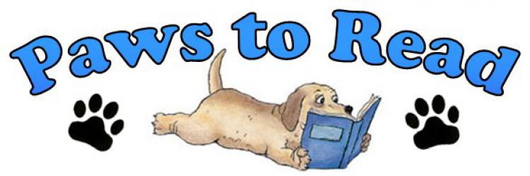 Paws to Read at the Matthews Library
